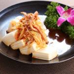 ネギチャーシュー豆腐